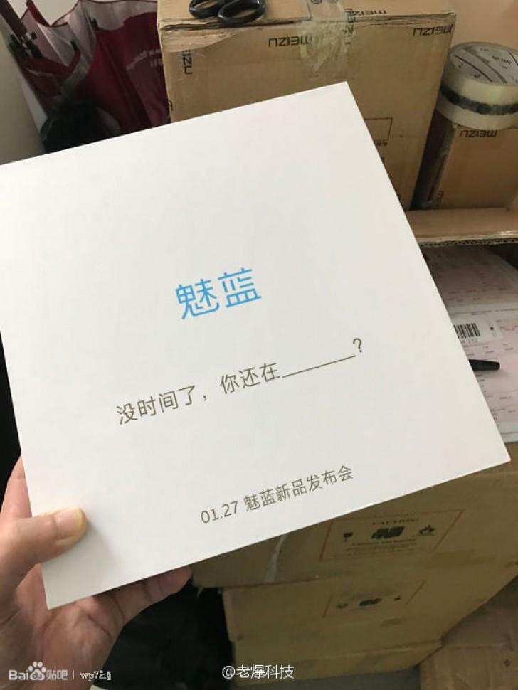 Meizu представит новое устройство 27 января