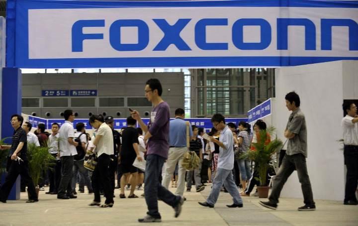Доходы Foxconn снизились впервые за 25 лет