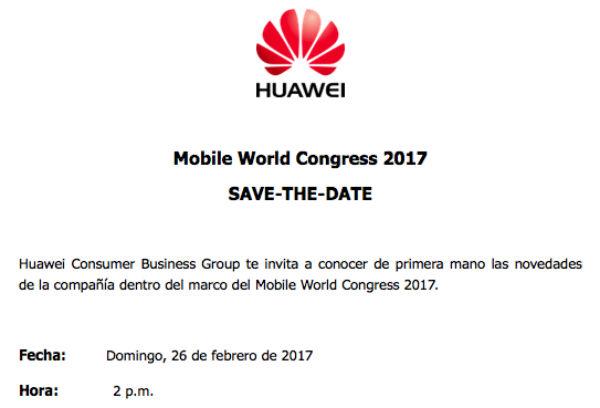 Huawei проведет мероприятие 26 февраля в ходе Mobile World Congress