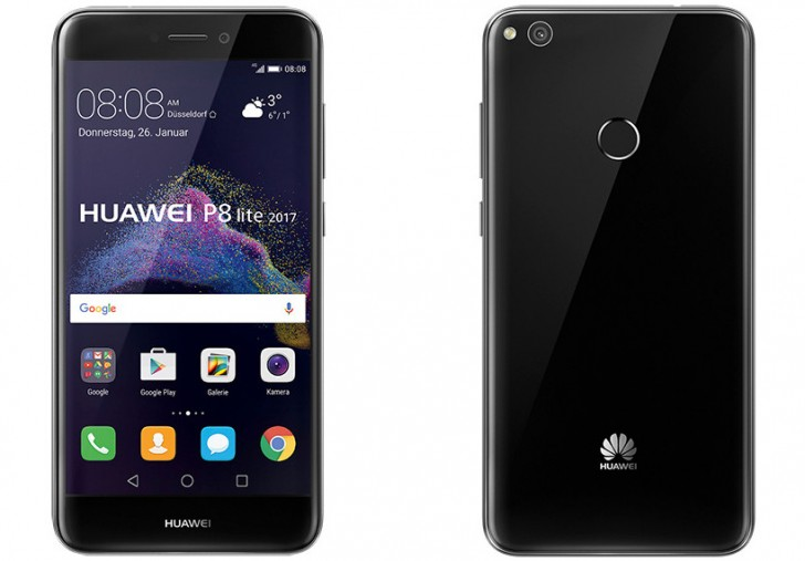 Huawei выпустила красивый смартфон P8 Lite (2017)