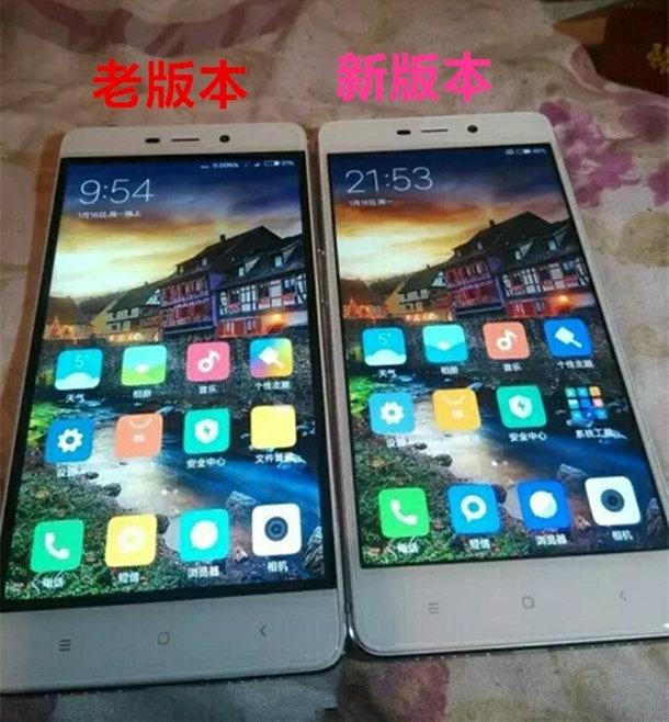 Xiaomi Redmi 4 в новых партиях лишится черных рамок вокруг дисплея