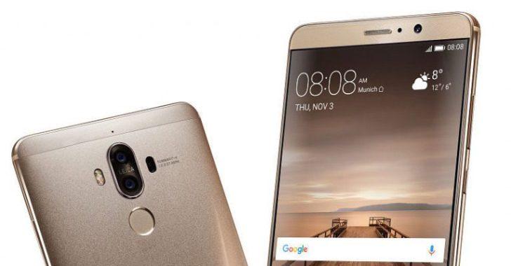 Замечен Huawei Mate 9 в исполнении 6 + 128 ГБ