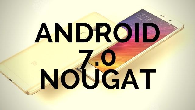 Опубликован список смартфонов Xiaomi, которые получат Android Nougat