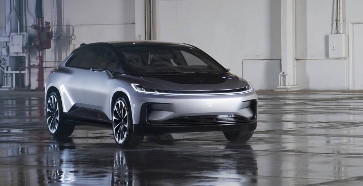 Электрокар Faraday Future представлен официально