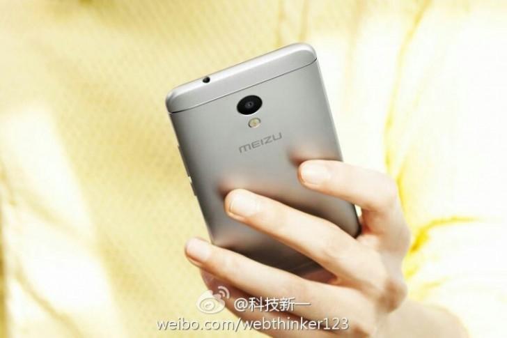 Появились изображения Meizu M5S