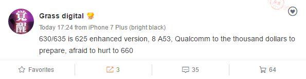 Слухи раскрывают сведения о новых чипах Qualcomm