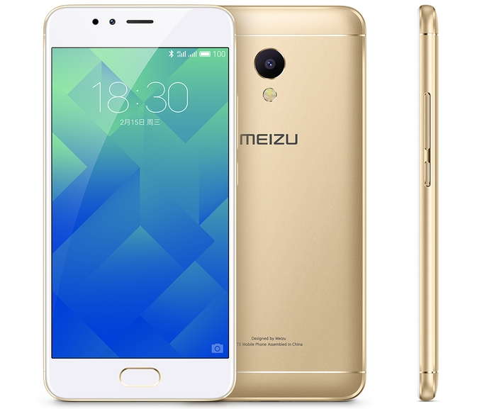 Meizu показала смартфон M5S