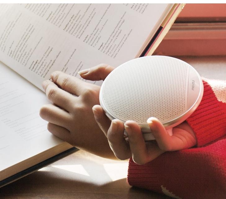 Meizu выпустила портативную Bluetooth-колонку вформе диска