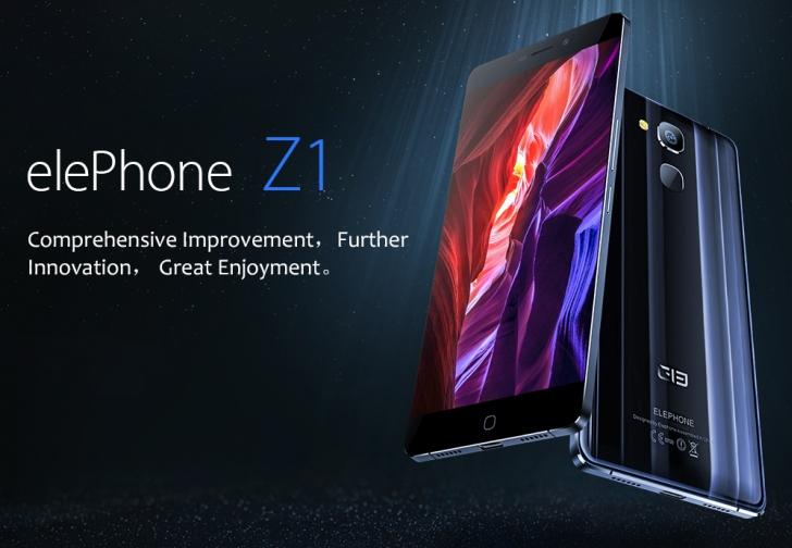 Elephone Z1 сделают с помощью краудфандинга