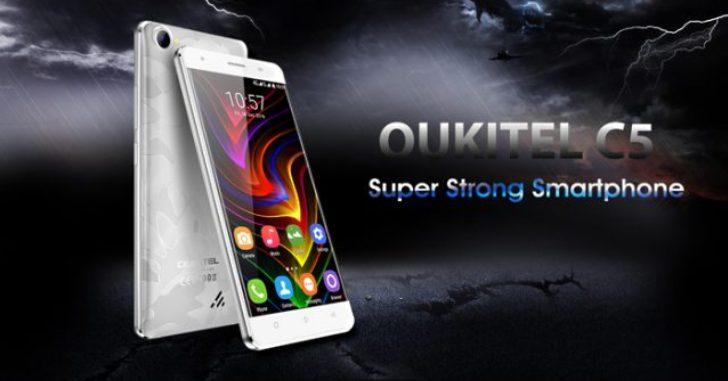 В ближайшее время в продажу поступит Oukitel C5