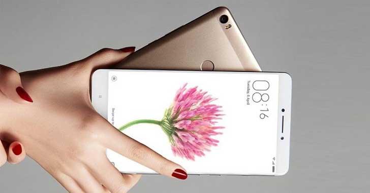 Обновленный фаблет Xiaomi Mi Max 2 ожидается в мае