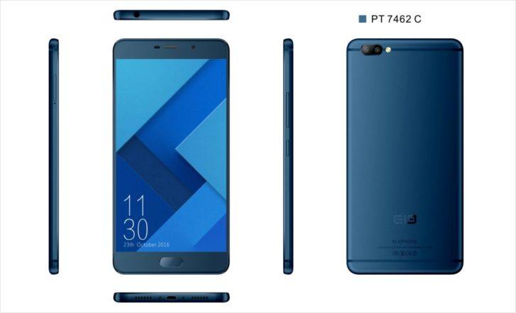 Elephone Play X получит двойную камеру и необычные цвета корпуса