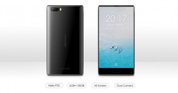 Ulefone готовит два смартфона на Helio P25, один похож на Xiaomi Mi Mix