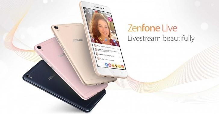 Представлен смартфон Asus Zenfone Live