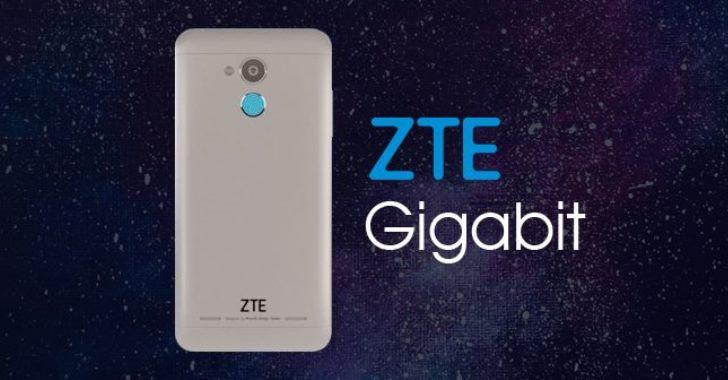 Представлен смартфон ZTE Gigabit