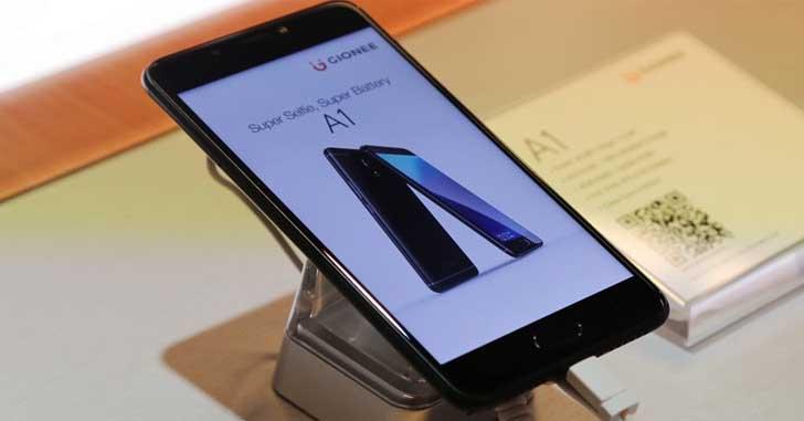 Компания Gionee представила селфифоны Gionee A1 и A1 Plus