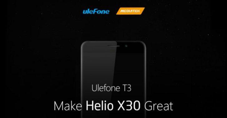 Ulefone T3 может получить 8 ГБ RAM