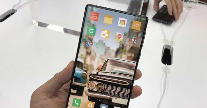 Дактилоскопический сканер Xiaomi Mi Mix 2 будет встроен в дисплей
