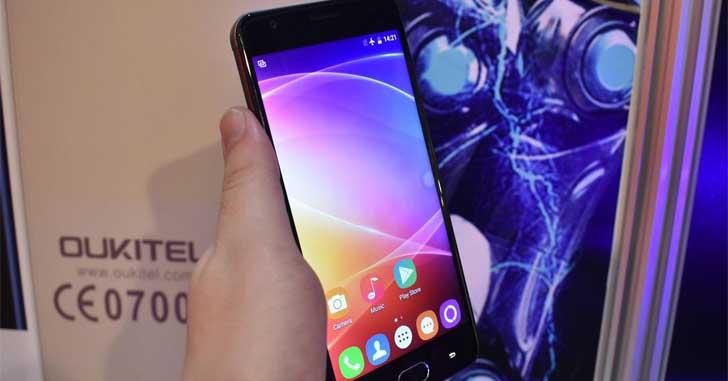 Oukitel K6000 Plus - аккумулятор на 6080 мАч и Android 7.0