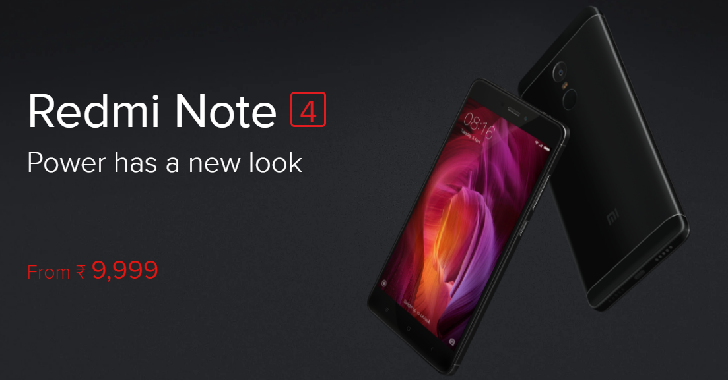 Xiaomi продала более 1 миллиона Redmi Note 4 в Индии