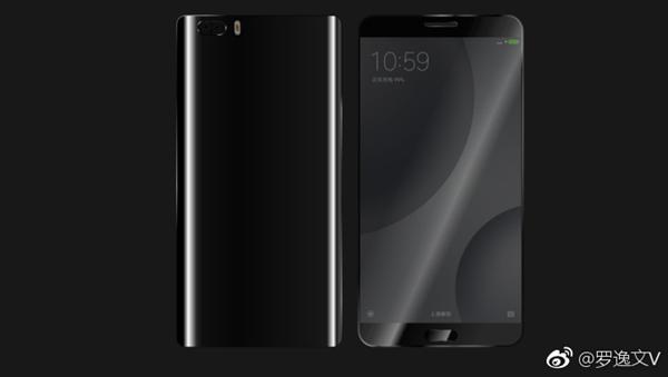 В сети появились рендеры Xiaomi Mi 6