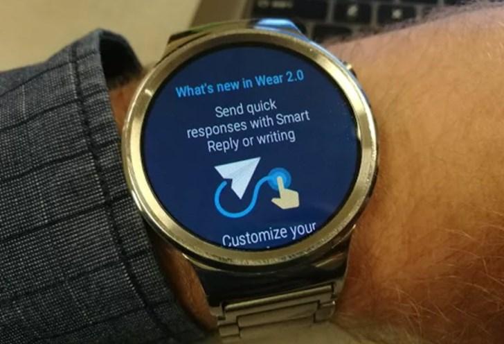 Huawei Watch обновляют до Android Wear 2.0