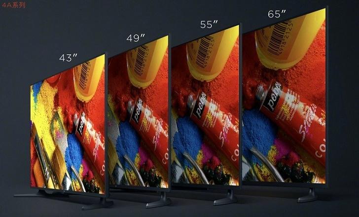 Линейка телевизоров Xiaomi Mi TV 4A представлена официально