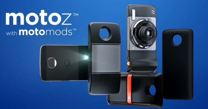 Lenovo обещает 3-5 новых Moto Mods каждый квартал