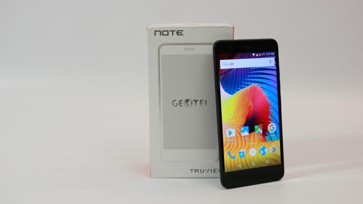 Обзор смартфона Geotel Note. Легкий, яркий, доступный