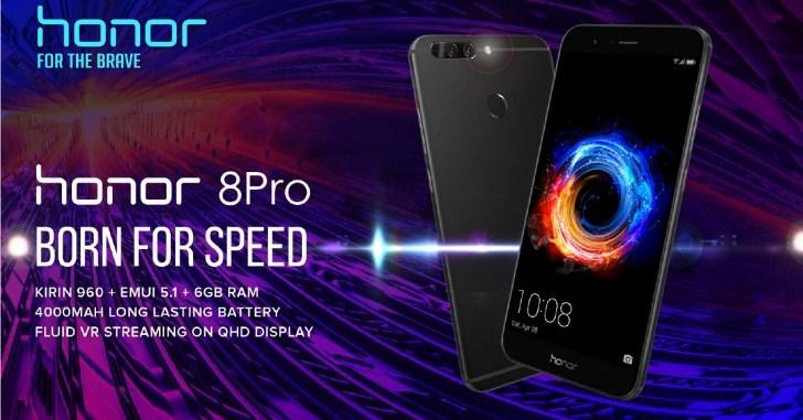 Huawei Honor 8 Pro (Honor V9) запущен в Европе