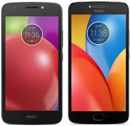 Изображения бюджетников Moto E4 и Moto E4 Plus утекли в сеть