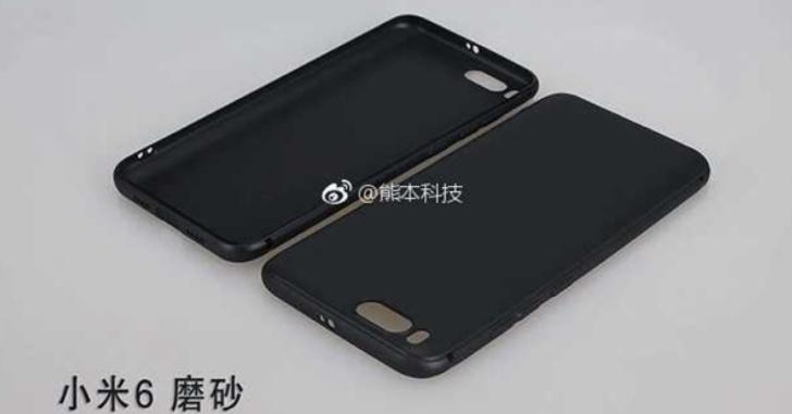 Выложены новые изображения чехла Xiaomi Mi 6