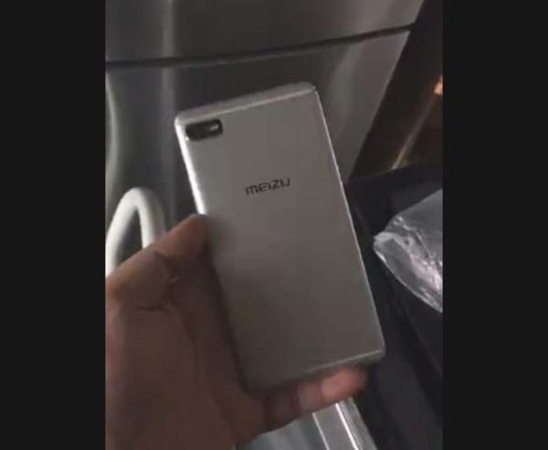 Стало известно как выглядит Meizu E2 спереди