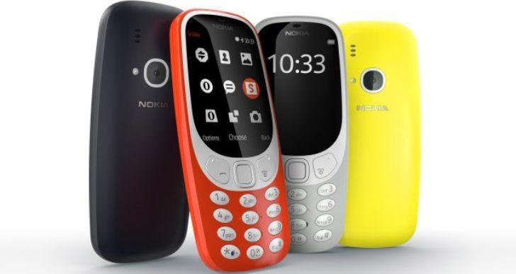 Nokia 3310 пойдет в продажу в конце апреля