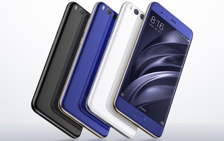 Xiaomi Mi 6 может быть выпущен в новых цветах