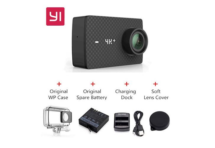 Экшн-камера YI 4K + представлена в Китае