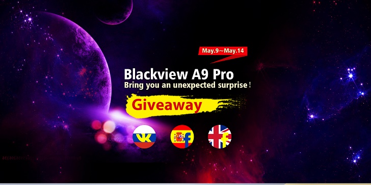 Встречайте май со смартфонами Blackview