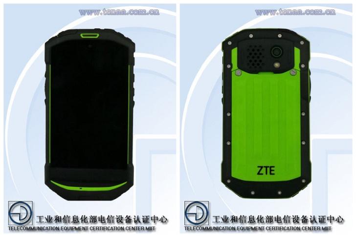 Защищенный смартфон ZTE замечен на TENAA