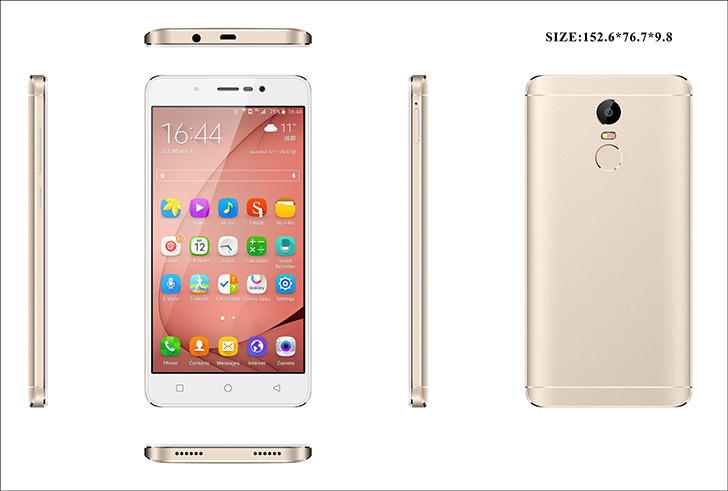 К релизу готовится новый смартфон UHANS — модель S6
