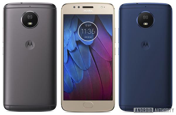 Опубликованное изображение раскрыло дизайн смартфона Moto G5S