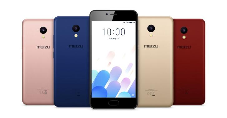 Представлен смартфон Meizu M5C