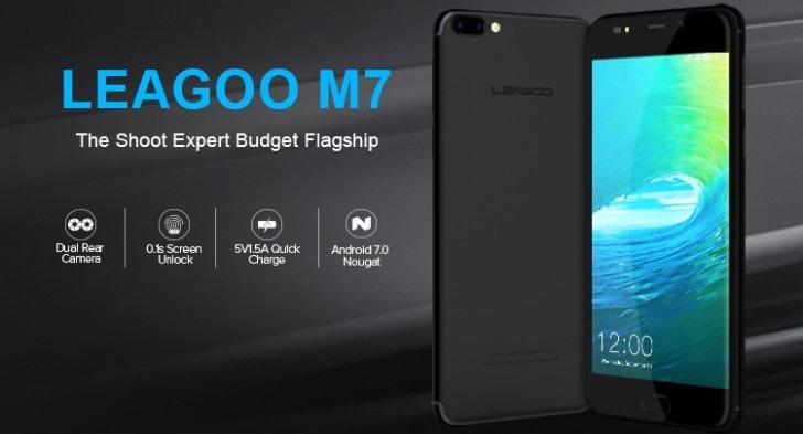 Айфоноподобный Leagoo M7 стоит меньше $80!