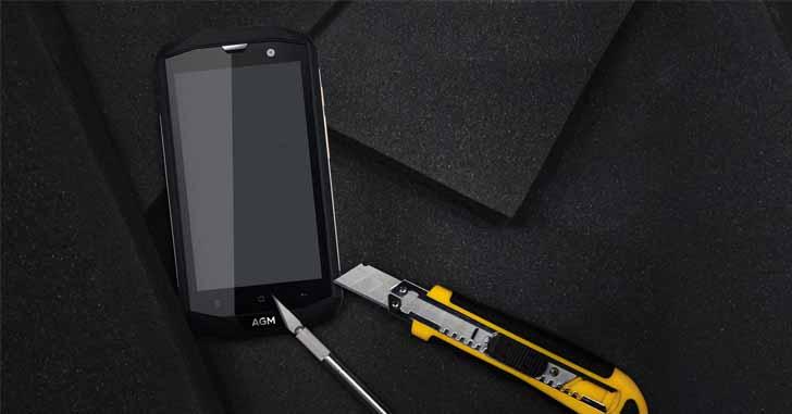 Защищенный смартфон AGM A8 SE - упрощенная версия модели AGM A8