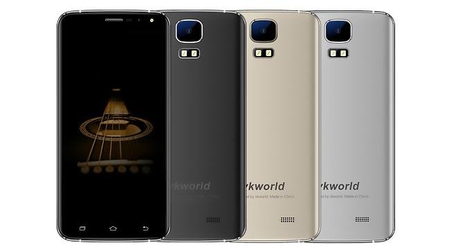 Vkworld готовит самый дешевый смартфон без рамок