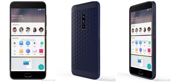 OnePlus 5 в защитном бампере показали на рендере