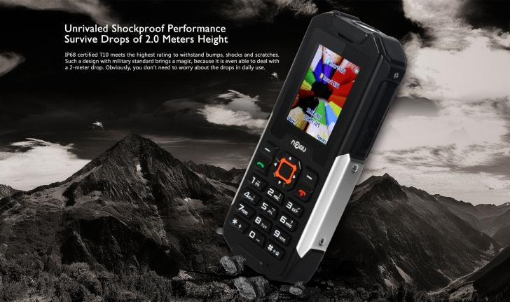 Защищенный телефон NOMU T10 представлен и поступил в продажу