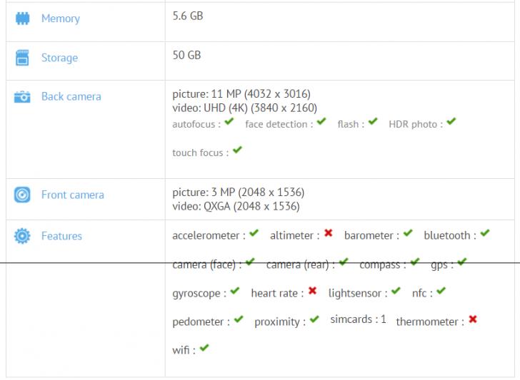 Всети интернет появились полные характеристики нового Xiaomi Jason на6 Гб
