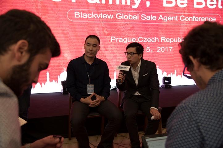 Blackview в Праге представила сразу 4 смартфона