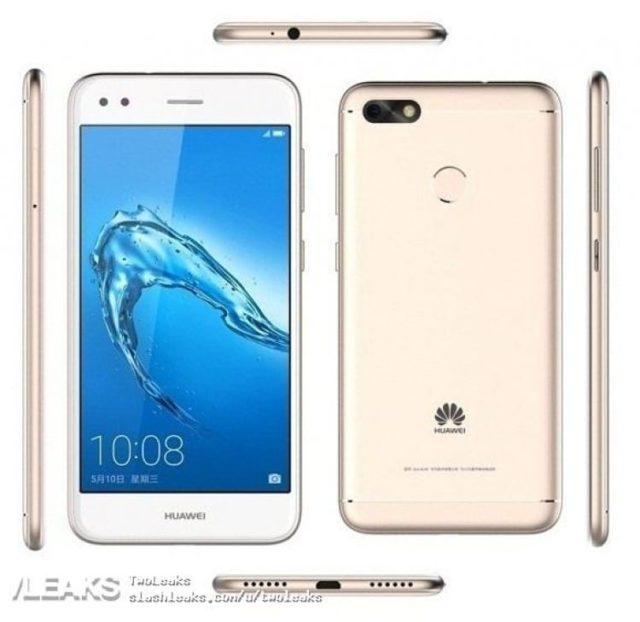 Смартфон Huawei Enjoy 7 - рендеры и характеристики