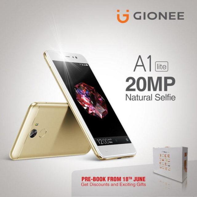 Компания Gionee расширила линейку A1 смартфоном Gionee A1 Lite